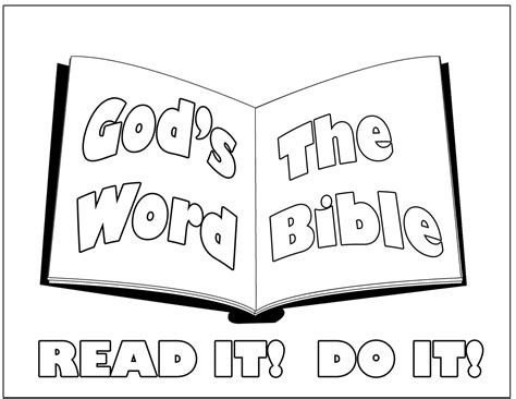 The Bible Coloring Page free printable bible coloring pages for