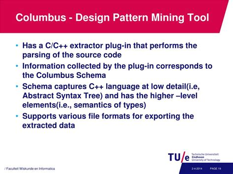 design pattern mining ppt code and pattern mining in c c powerpoint