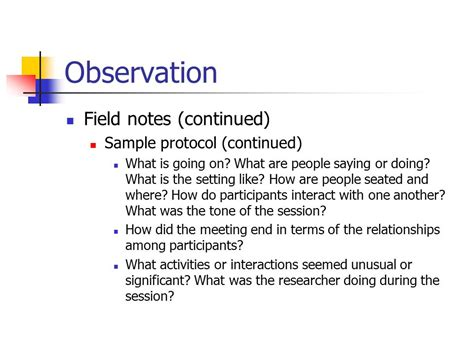 observation field notes template exiucu biz observation field notes template