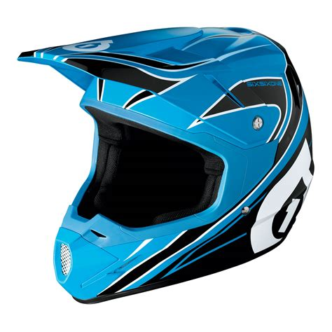 sixsixone motocross sixsixone 2014 comp blue black motocross helmet 661 off