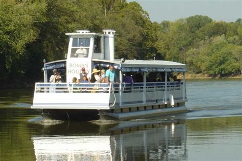 georgia s rome office of tourism roman holiday cruise boat - Pontoon Boats For Sale In Rome Ga