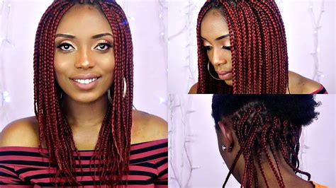 Gloria Jumbo Maxy By Keysha medium box braids best hair styles
