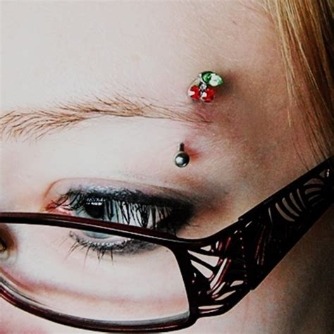 diamond tattoo between eyes 88 unusual and really cool eyebrow piercing styles and jewelry