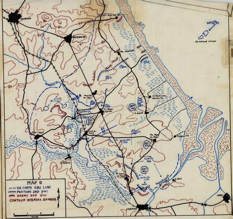 The Virtual Armchair General 100 Normandy Invasion Map D Day D Day By The
