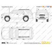 The Blueprintscom  Vector Drawing Toyota 4Runner