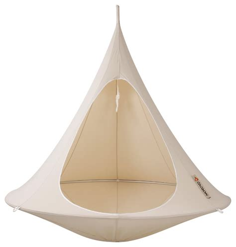 cocoon swing tent tent double hanging chair by cacoon contemporary