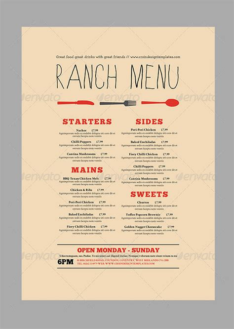 restaurant menu card templates 28 menu card templates free sle exle format