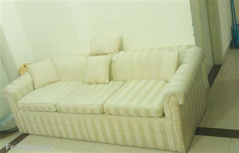 3 seater sofa for sale bought from a foreigners house in