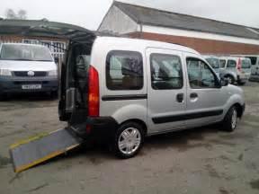 Renault Kangoo Wheelchair Adapted 2008 Renault Kangoo Wheelchair Disabled Accessible Vehicle