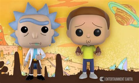 Funko Pop Original Rick And Morty Tinkles With Ghost In A Jar get schwifty with these rick and morty pop vinyl figures