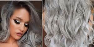 coloring hair gray trend name granny hair trend 22 photos proving grey is glamorous