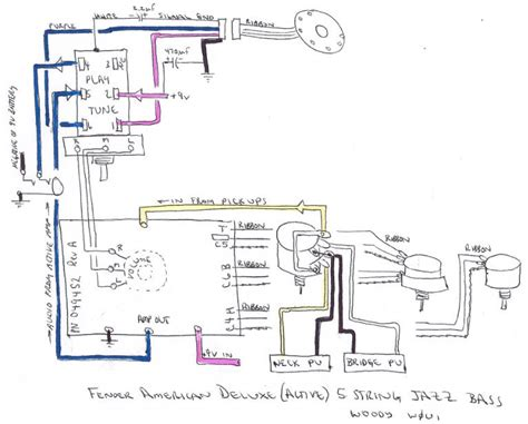 wiring diagram for fender deluxe precision b get free