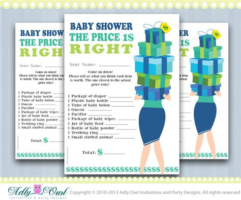 bathroom games for boy price is right baby boy shower game printable fun baby shower