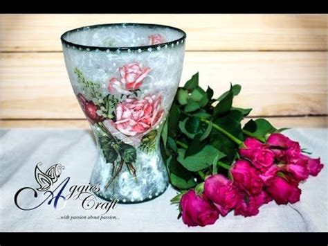 How To Decoupage On Glass - best 25 decoupage glass ideas on diy
