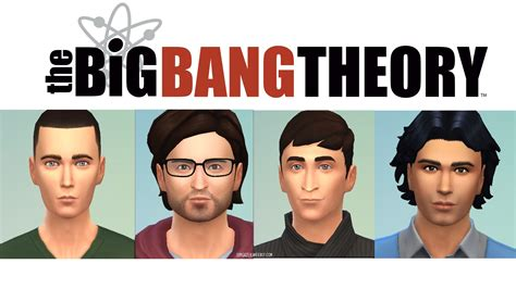 the bid theory mod the sims the big theory
