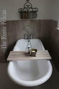 wood bathtub caddy reclaimed wood bathtub caddy rustic bathtub tray by rusticpelican