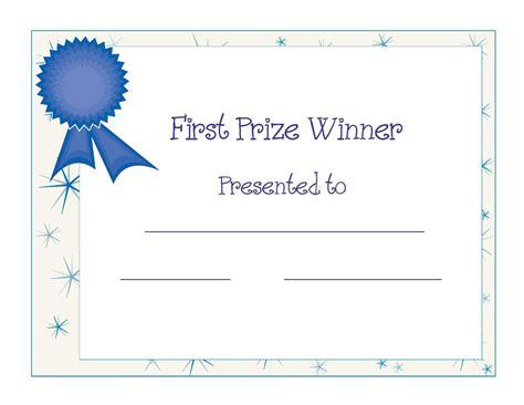free printable award certificate template free printable