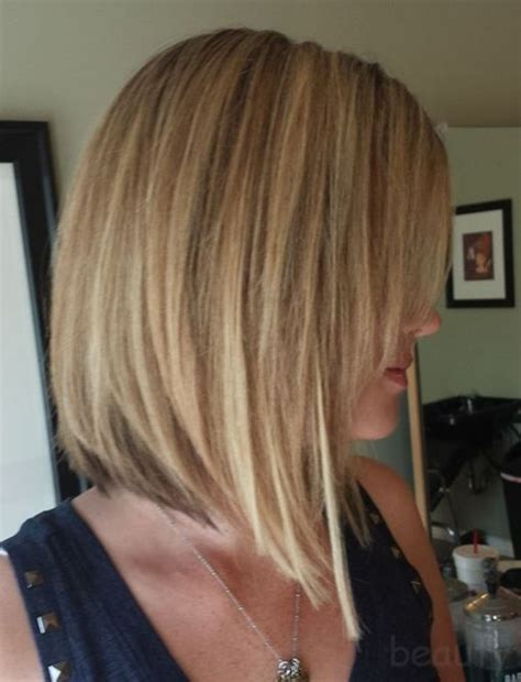 how to cut stack bob with side swept bangs short angled bob w long side swept bangs exactly what i