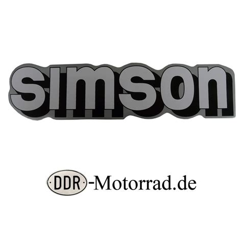Tank Aufkleber by Aufkleber Tank Neue Form Simson S51 Ddr Moped Ersatzteile