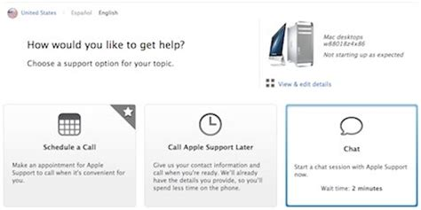 apple live chat apple launches reved applecare support website with