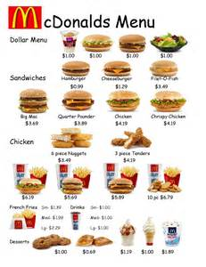 empowered by them fast food worksheet 1