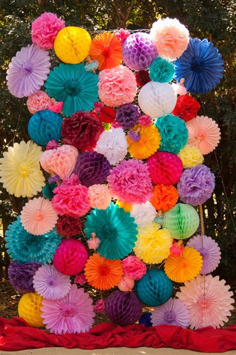 1 Set Tissue Paper Flower Balls Penghias Meja For 108 best images about logitech eye on colorful fashion colors and media makeup