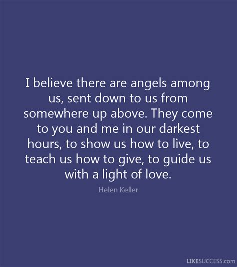 i believe there are among us sen by helen keller