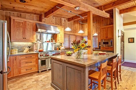 rustic cedar kitchen cabinets photo page hgtv