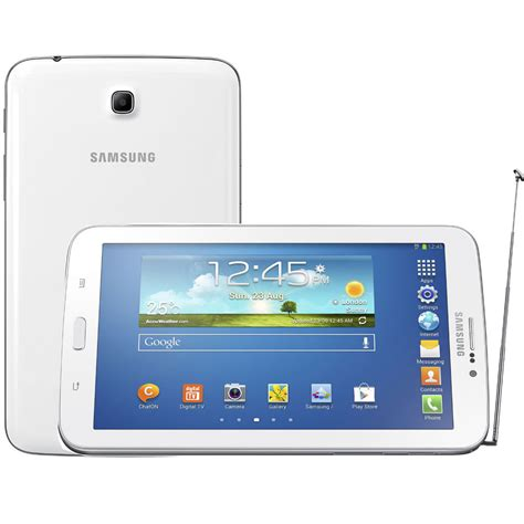 Tablet Samsung 1juta tablet samsung galaxy tab 3 3g sm t211m branco tela 7 tv digital 8gb processador dual