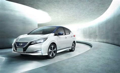 new nissan electric car new nissan leaf electric vehicle gets autonomous driving