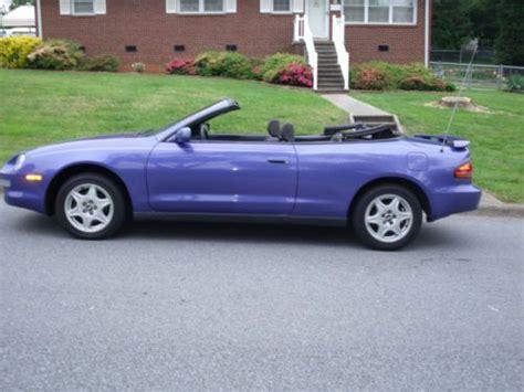 1997 Toyota Celica Convertible Find Used 1997 Toyota Celica Convertible In Burlington