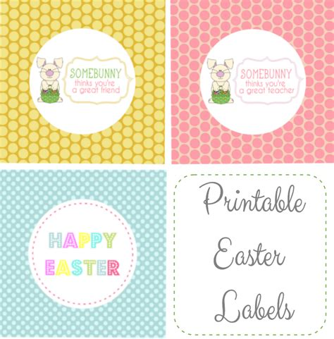 printable easter tags for teachers free easter printables