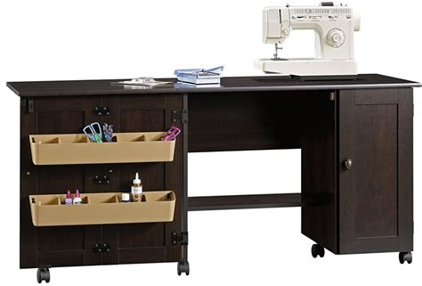 sauder sewing and craft table finishes the complete guide on sewing tables thefallenhem com