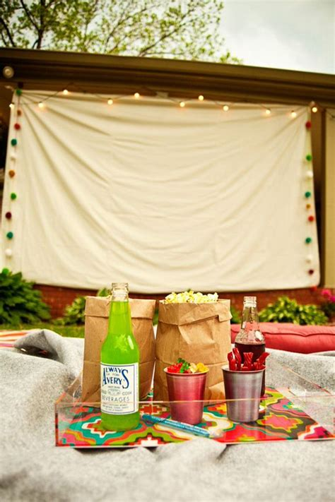 how to make a backyard movie theater 7 effortless tips for backyard movie theater decorazilla