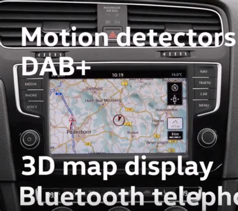 evolution of radio in vw golf video dpccars