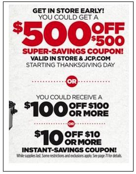 Jcpenney Giveaway Coupons 2017 - jcpenney black friday ad posted for 2015 bestblackfriday com black friday 2017 blog and news