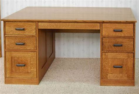 mission style office desk mission style desk de vries woodcrafters