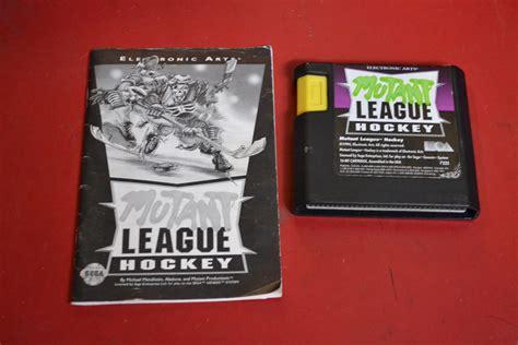 sega genesis hockey mutant league hockey for sega genesis vintage only ebay