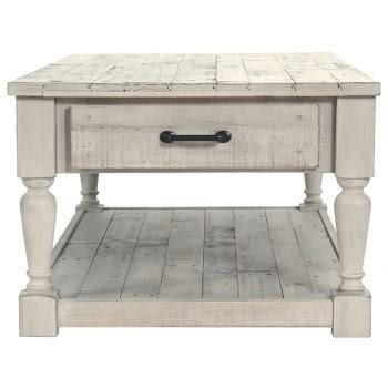 shawnalore white wash rectangular cocktail table   cocktail tables home source