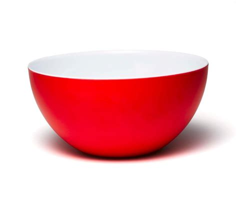 Leather Home Decor by Q Squared Madison Bloom 6 5 Red Amp White Bowl