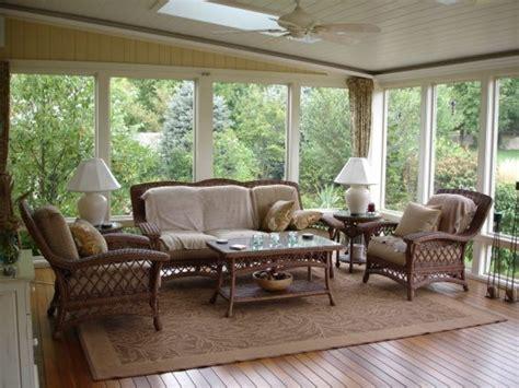 Small Screen Porch Furniture Ideas