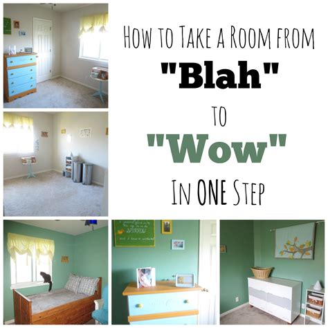 how does it take to paint a room how to take a room from blah to wow in one step