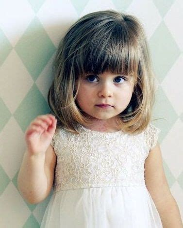 haircut for 8year w bangs 25 best ideas about little girl haircuts on pinterest