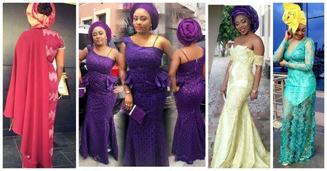 nigerian aso ebi fashion styles sophisticated nigerian aso ebi styles amillionstyles com