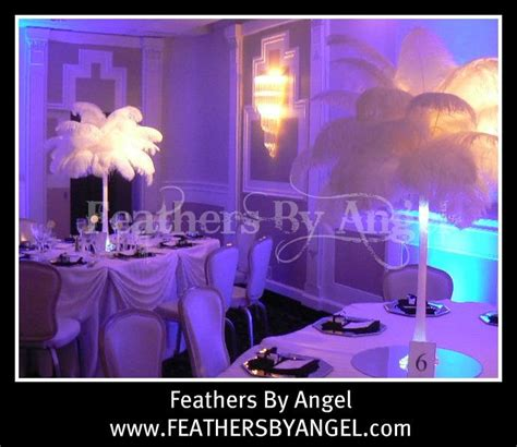 Ostrich Feather Centerpieces For Rent From Feathers By Ostrich Feather Centerpieces For Rent