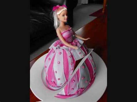 marziann cartoon cake barbie doll cakes youtube