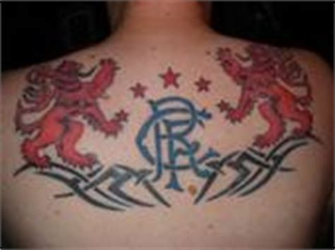 glasgow rangers tattoos designs glasgow rangers