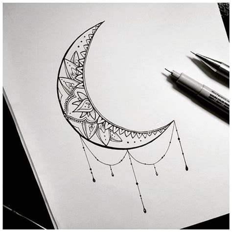 crescent moon tattoo ideas newest tattoos 2017