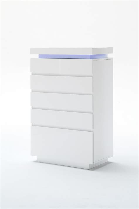 sideboard höhe 50 cm odessa sideboard chest of drawers in high gloss white with