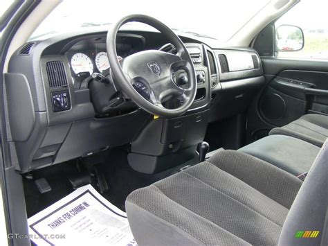 2003 Dodge Ram Interior by 2003 Bright White Dodge Ram 1500 Slt Regular Cab 4x4
